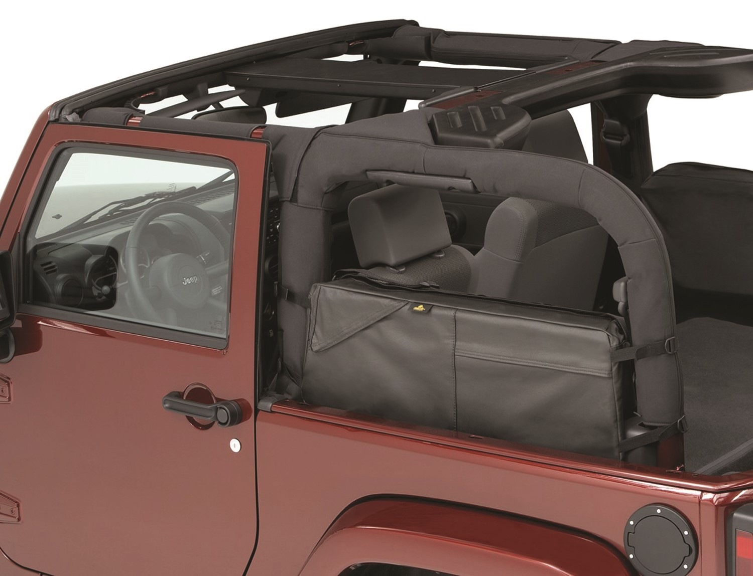 Get your Jeep Saddle Bag