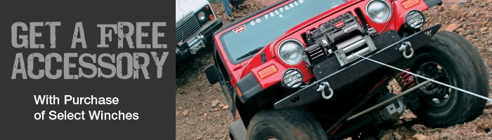 Warn Winches Bundles from StreetSideAuto.com