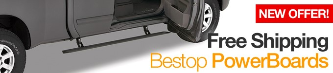 Free Shipping on Bestop PowerBoards