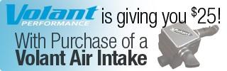 Volant CAI Rebate - Ends December 31, 2015 | StreetSideAuto.com